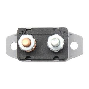 Image 3 - 1 Pcs DC6 28V 50A Auto Lkw Boot Audio/Batterie Ladegerät Verstärker Circuit Breaker Sicherung Halter Stereo Verstärker Refit Sicherung adapter