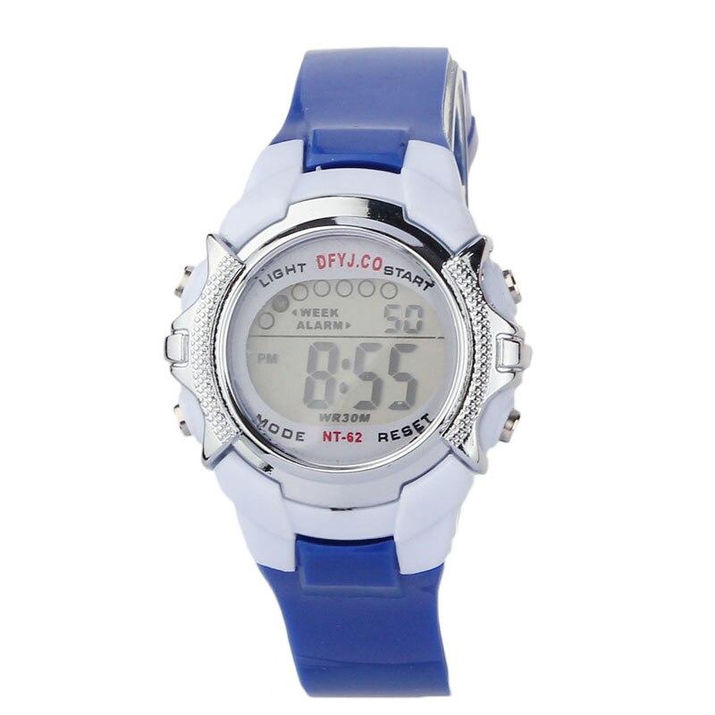 #5001 Mode Kinder Digital Led Quartz Alarm Date Sport Armbanduhr Dropshipping Neue Ankunft Freeshipping Heiße Verkäufe 100% Hochwertige Materialien