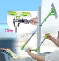 무료 배송 텔레스코픽 다기능 고층 창 청소 유리 클리너 브러시 세척 윈도우 먼지 브러쉬 깨끗한 hobot