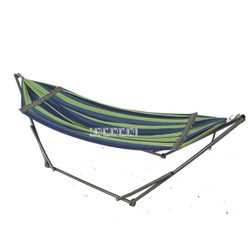 DF-Z04 avec support maison hamac intérieur extérieur hamac chaise à bascule bureau déjeuner pause chaise pliante balançoire