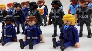 Image 5 - Playmobil 7cm  Police Navy Army Military  Action Figures  Model Moc Toys Gift For Kids  Random Style For Sale  X046