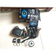 PKE Auto Alarmanlage Keyless Entry Remote Push Button Starline Motor Auto Start Stop Sensing Zentralverriegelung 2 Fernbedienungen
