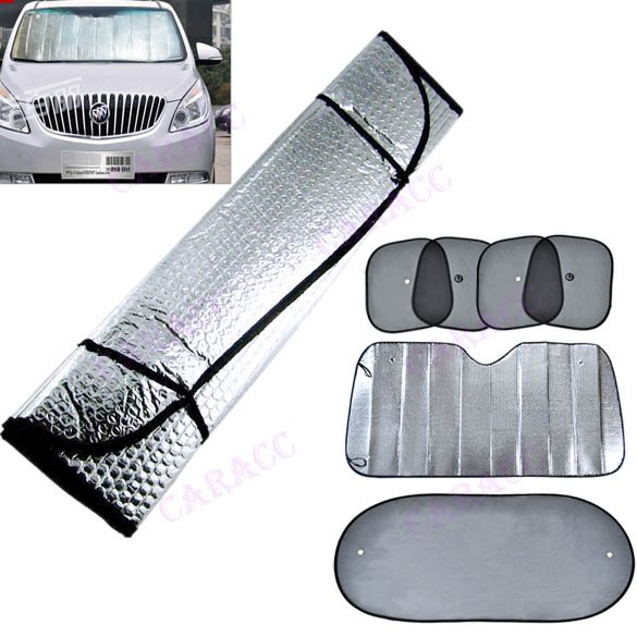 Double Sided Car Front Windshield Windscreen Aluminum Foil