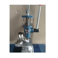 Tablet persmachine, handleiding staal pil/tablet maker