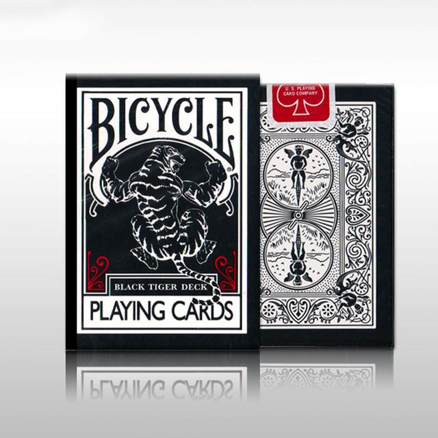 UV500 Bicicleta TCC Tigre Negro Ellusionist Cubierta Tigres Pips Rojas Segunda Edición Ohio Jugar Juegos de Cartas de Magia Trucos de Cartas de Póquer