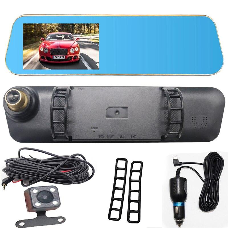 Night Vision Dash Cam FHD 1080P Car DVR Digital Video Recorder Dash cam Camera For Driving Recording Car Detector Double lens