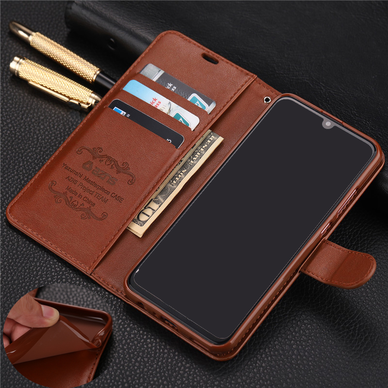For Huawei Honor 10 Lite Case Luxury Wallet PU Leather Phone Case For Huawei Honor 10 Lite Case Book Flip Protective Cover Bag