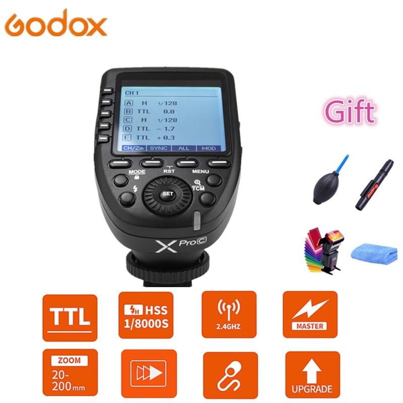 Godox XPro-C XPro-N XPro-S XPro-F XPro-O Flash Trigger Transmitter 2.4G Wireless HSS TTL for Canon Nikon Sony FUJI DSLR Camera