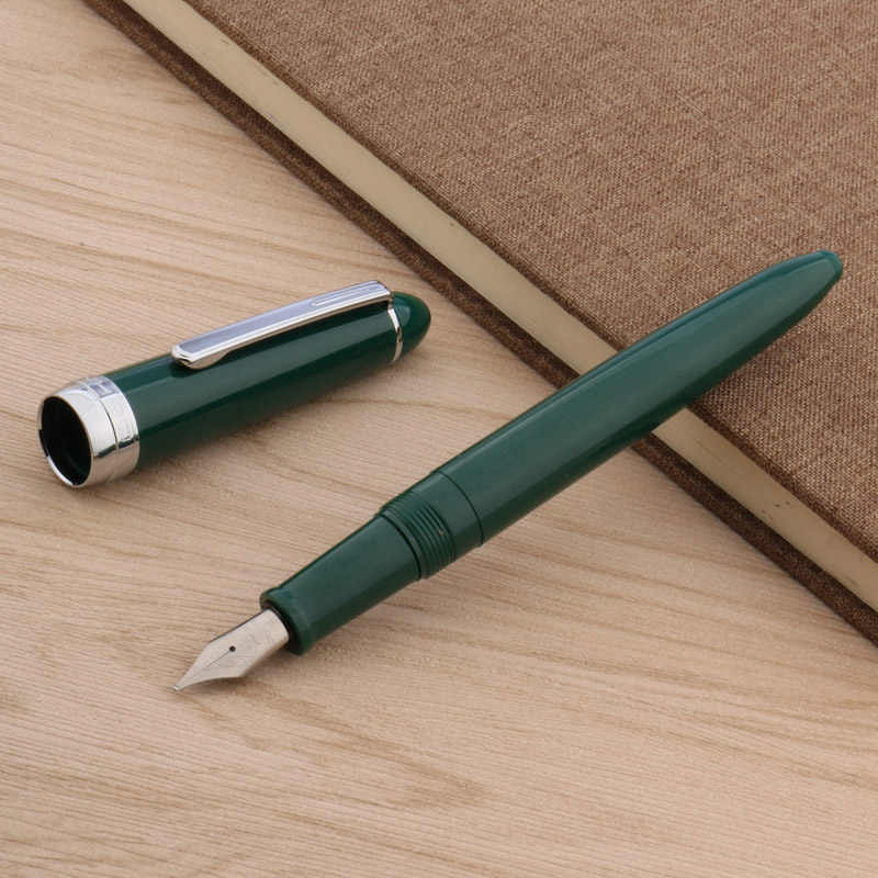 jinhao 992 SILVER office plastic popular gift classic F NIB fountain pen