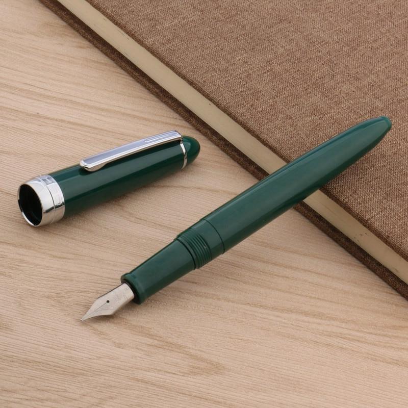 Jinhao 992 SILVER Office Plastic Popular Gift Classic F NIB Fountain Pen