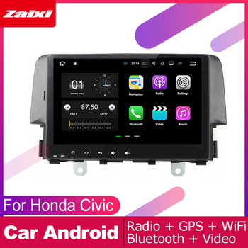 For Honda Civic 2016 2017 2018 2019 Car Android Multimedia System 2 DIN Auto Player GPS Navi Navigation Radio Audio WiFi