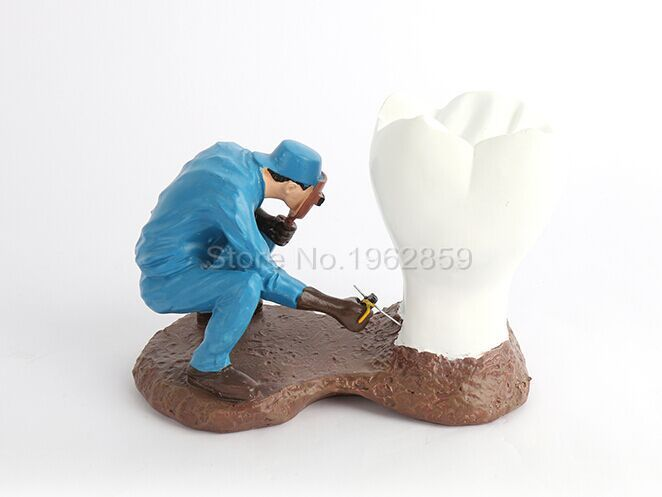 ФОТО Dental Clinic Decoration Dentist Gift Resin Crafts Toys Dental Artware Teeth Handicraft Furnishing Articles Creative Sculpture