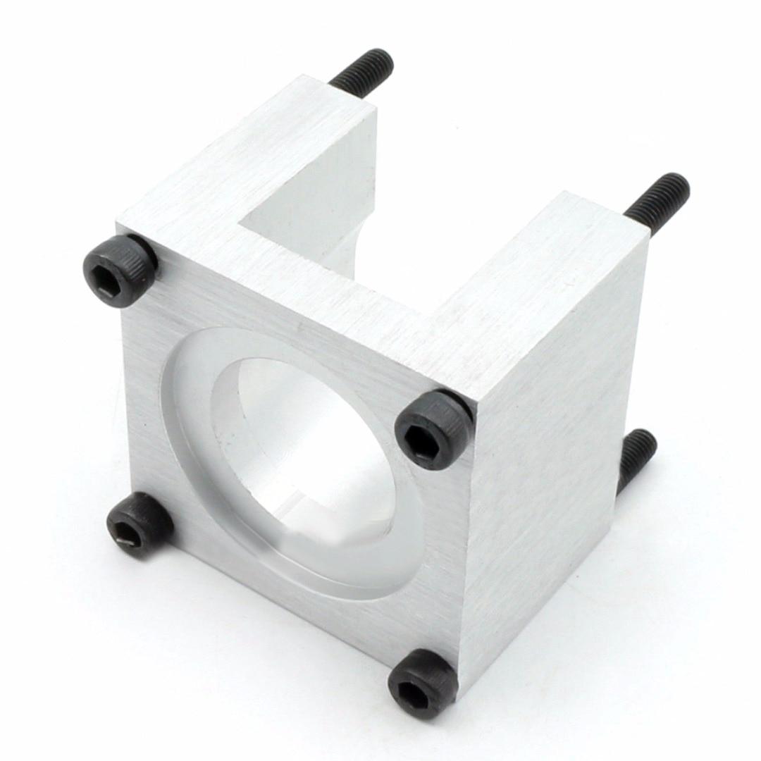 6061 Aluminum Mount Alloy Bracket Support Base + 4pcs Screw For CNC Router 57 Stepper Motor