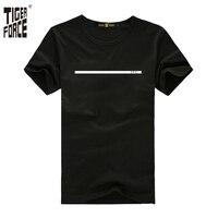 호랑이 포스 2017 유명 브랜드 남성 패션 티셔츠 95% 면 5% 스판덱스 목 캐주얼 남성 tshirt 디자인 바위 무료 배송 TF-2057