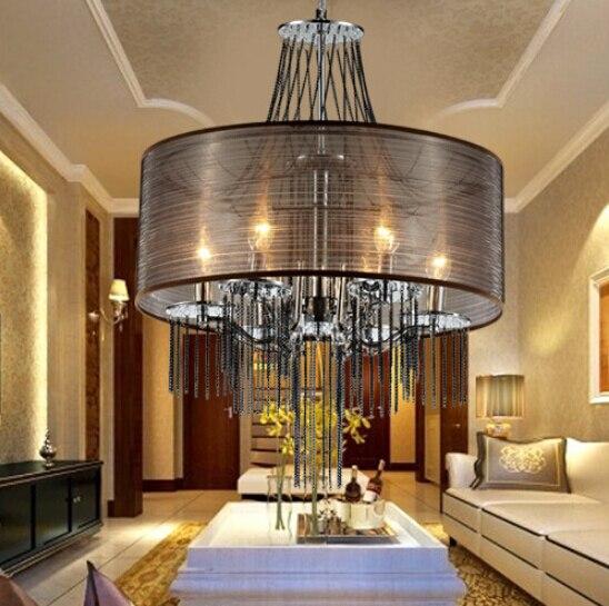 Latest Arrival, Fashion Simple Elegant Tassel Chandelier LED Chandelier  Living Room Restaurant Bedroom Lighting Lamps