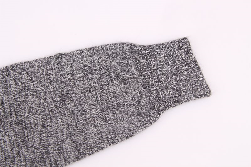 Grande taille 100% cachemire tricot femmes pulls à capuche de mode sweatshirts pull manteau H droite patchwork motif étoile S/90 5XL/125 - 6