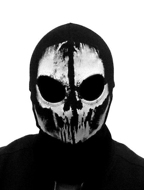 (Fast shipping) NEWest Balaclava Hood Full Face Masks For Ghosts Skull Bike Skiing Hood Ski Mask 1