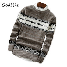 GODLIKE  2017New autumn and winter sweaters, men's trendy sweaters/  Men's fashion autumn sweaters