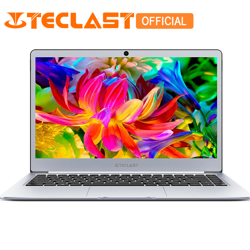 Teclast F7 Windows 10 14.0 inch Notebook Intel Celeron N3450 1.1GHz Quad Core 6GB RAM 128GB eMMC M.2 SSD Expansion HDMI Camera t bao air 2 notebook 13 3 inch windows 10 intel celeron n3450 quad core 1 1ghz 6gb ddr4 ram 128gb emmc hdmi english version