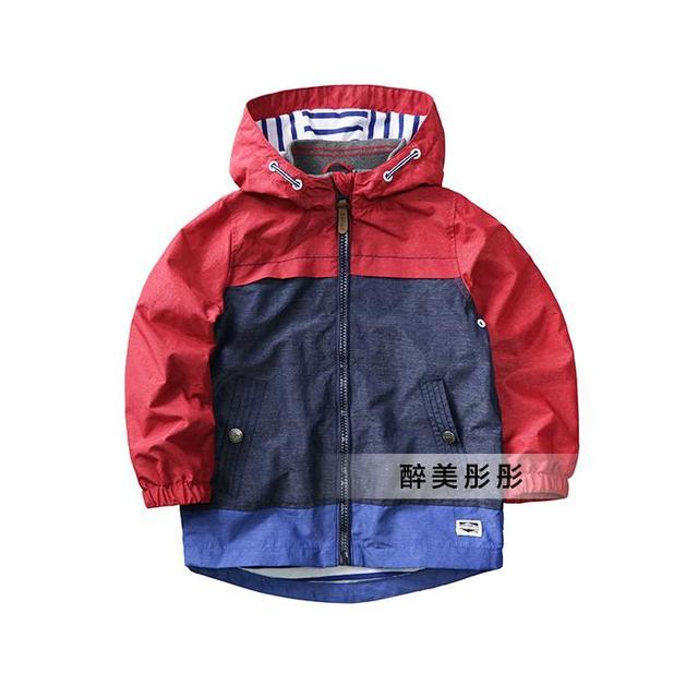 cba3e1c5f0cfa7 Baby jongens/peuter/kids lente/herfst winddicht/waterdichte jas, klassieke  ontwerp