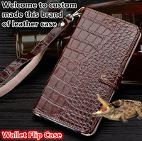 ZD13 Genuine leahther wallet flip case with hand strap for Xiaomi Redmi Note 5 Pro phone case for Redmi Note 5 Pro(5.99') case