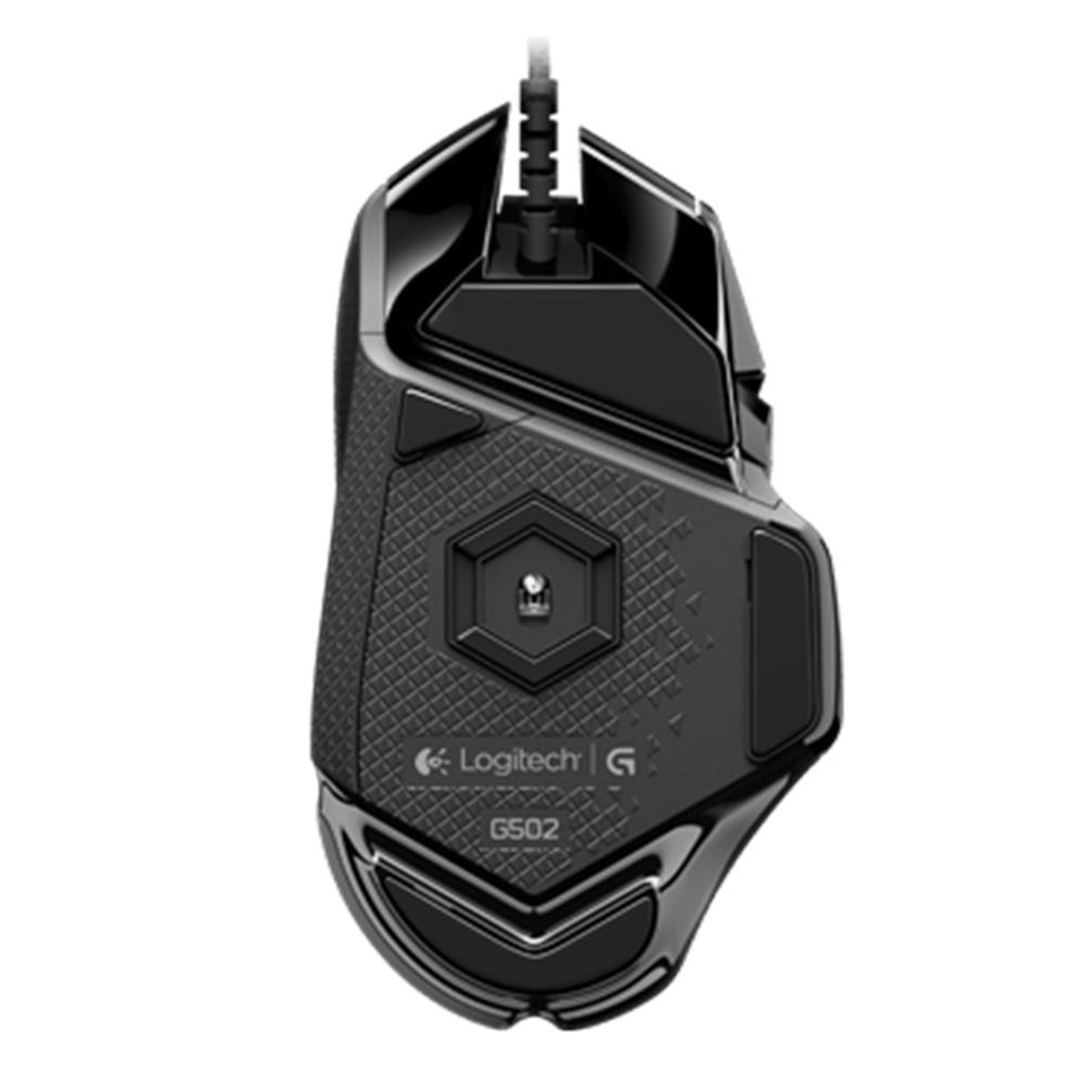 Logitech G502 100% Оригинальная английская упаковка RGB светодиодный Proteus Spectrum настраиваемая Лазерная игровая мышь USB Проводная 12000 dpi геймерская мышь - 5