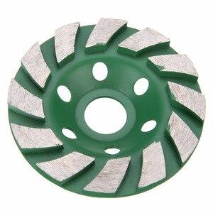 4 inch/100mm Diamond Grinding Cup Wheel Concrete Masonry Stone Cutting Disc Mayitr For Power Tool