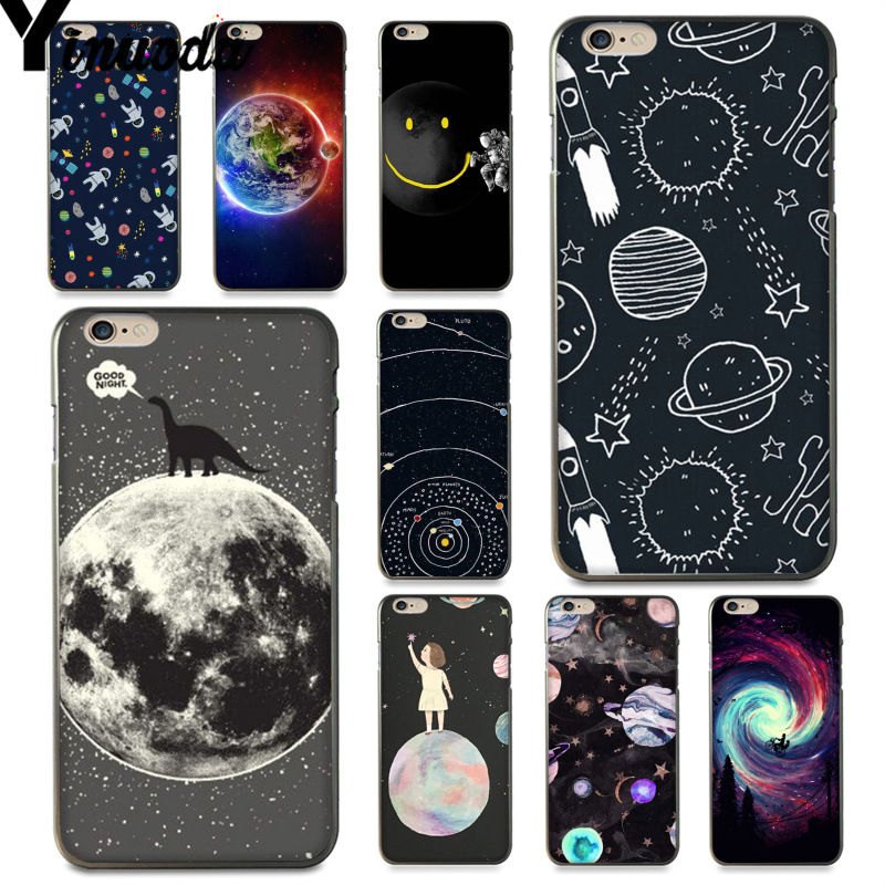 Half-wrapped Case Cellphones & Telecommunications Alert Maiyaca Fashion Space Moon Stars Cover Style Soft Shell Phone Case For Apple Iphone 5 5s Se 6 6s Plus 7 8 X Xs Max Xr Cover
