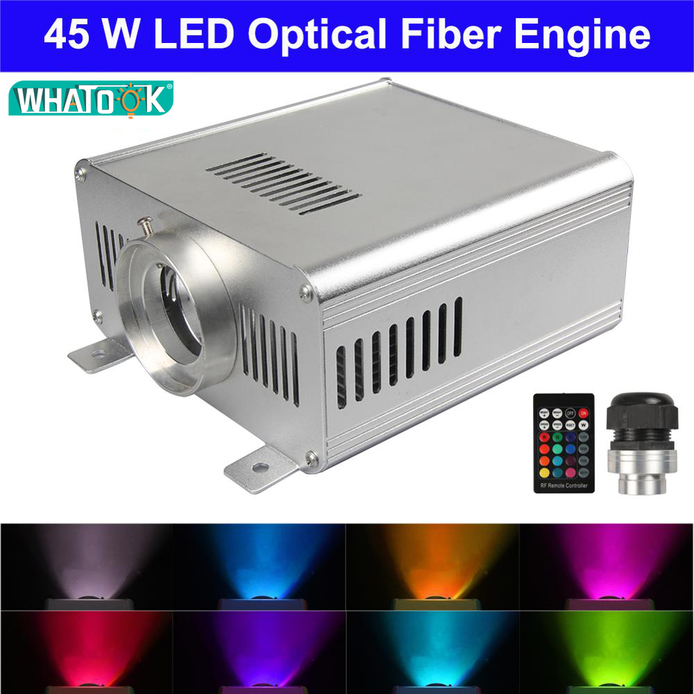 NEW Colorful fiber optic star light ceiling kit light optical Power 45W RGBW LED light engine with 24key Remote Control x 6pcsNEW Colorful fiber optic star light ceiling kit light optical Power 45W RGBW LED light engine with 24key Remote Control x 6pcs