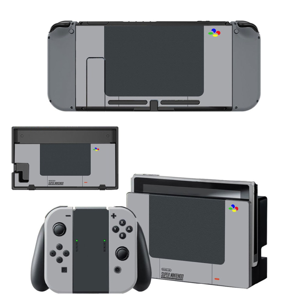 Gray Vinyl Decal Sticker Nintend Switch Skin Stickers for Nintendo Switch Console and Controller Skins 1