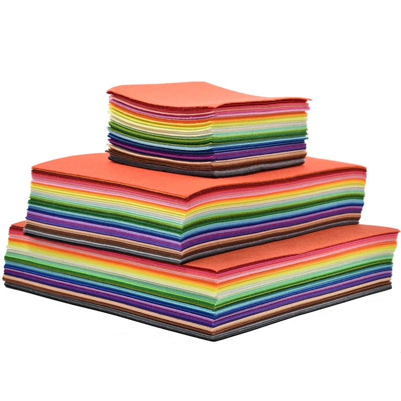 Tecido de feltro artesanal diy artesanato feltro lã feltro para artesanato telas vilt feutrine feltro flores bolas 30/20/15cm