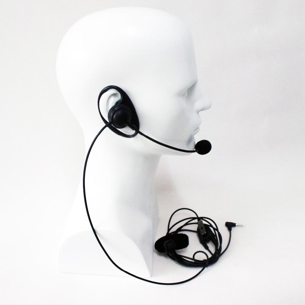 bilder für Xqf hörer 1pin 3,5mm d dragon-förmigen finger ptt mic headset für yaesu vertex vx-3r ft-60r vx-210/351 zweiwegradio
