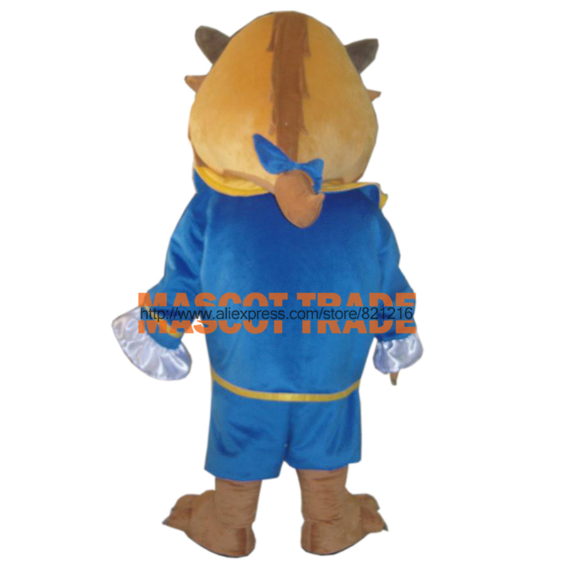 Adult the beauty and the beast costume the beast mascot costume for sale for Halloween party event