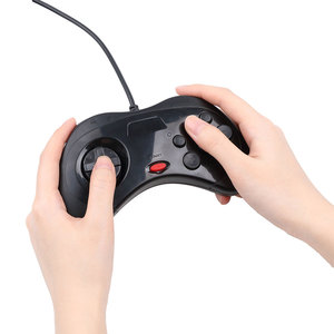 Image 4 - Kebidu Новый проводной геймпад USB, Классический игровой контроллер, геймпад для ПК, для системы Sega Saturn, стиль для ПК, горячая распродажа
