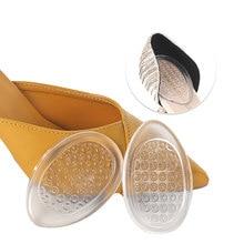 цена на Gel Insoles Pads For Shoes Inserts Soles Padding Inner Grinding Foot Heel Cushion Pad Shoe Men Women Insole