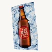 3D цифровой печати из микрофибры Полотенца душевые взрослых 70*140 см бутылка пива Печатных Пляжные Полотенца девушка прямоугольник Toalla Плайя ...