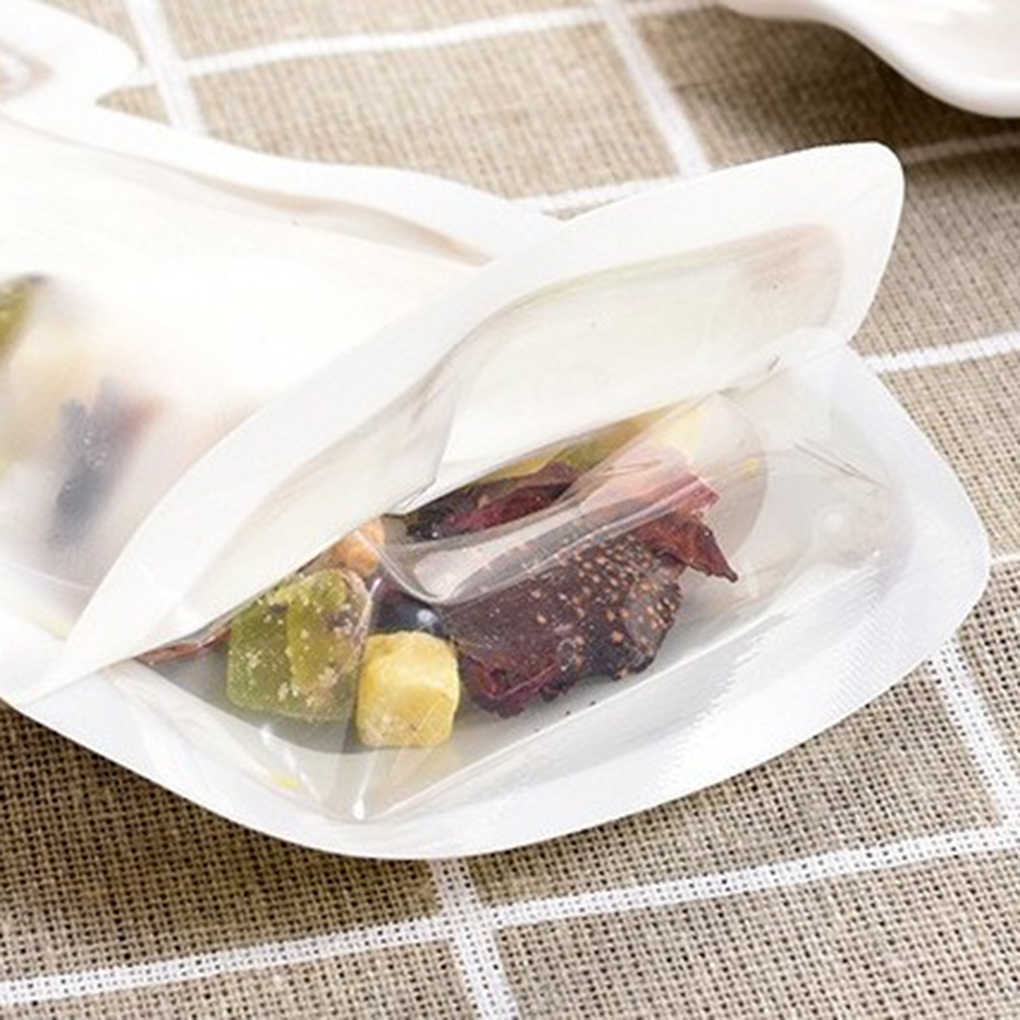 Lovely Reusable Seal PE Food Fresh Bag Vacuum Sealer Fruit Meat Milk Storage Bags Wrap Plastic Bags 1pcs