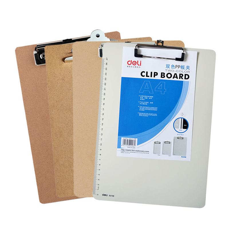 Business Style High Quality A4 A5 Clipboard Folder Clip Boards Writing Board Folder Filing Product Articulos De Oficina
