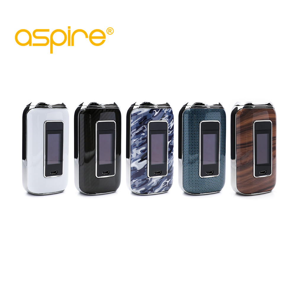 original Aspire Skystar 210W Touch Screen TC MOD Fit for dual 18650 battery box mod aspire electronic cigarette m