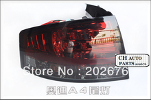 FREE SHIPPING , A4 B7 LED TAIL LIGHT/REAR LAMP ASSEMBLY, WITH SOOTING, FOR AUDI