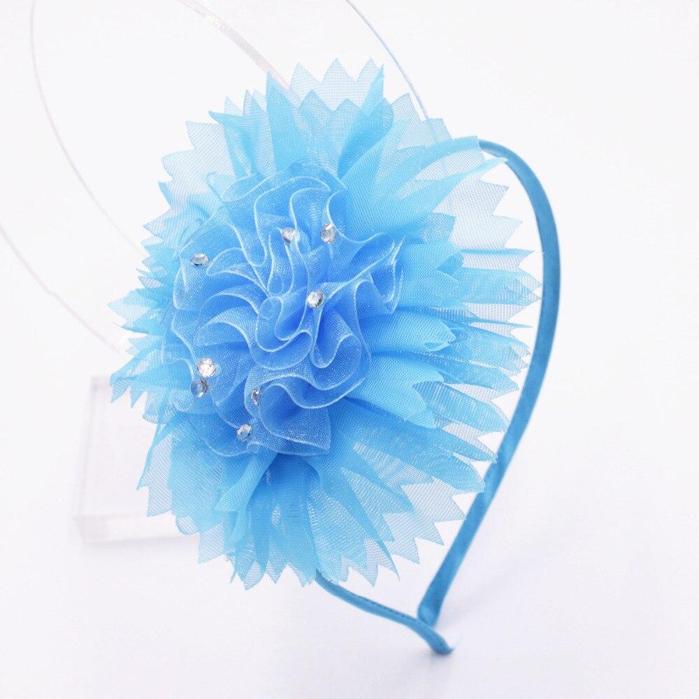Головная повязка большого размера для детей, мягкая головная повязка ручной работы, Детские аксессуары для волос для девочек