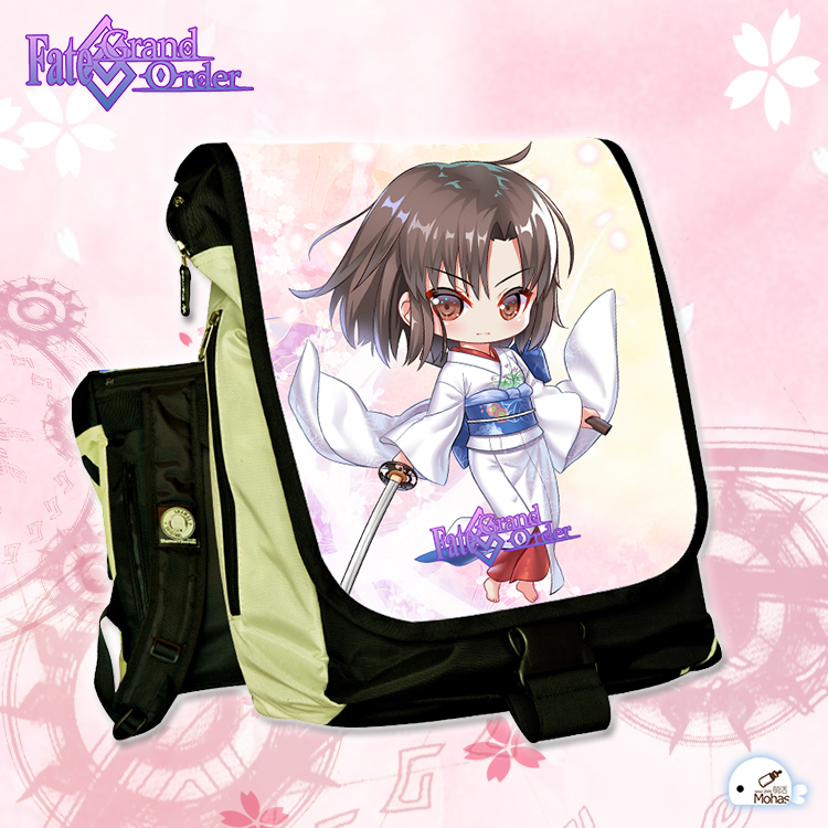 Anime Fate Grand Order COSPLAY Type-005 Anime Male and female Students Campus Leisure Travel Backpack Computer bag anime tokyo ghoul cosplay male and female students bag korean couples anime leisure pu leather backpack child birthday gift page 1 href