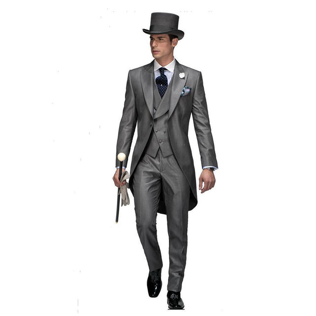Aliexpress.com : Buy Male 2017 Mens Italy Morning Suit Classic ...