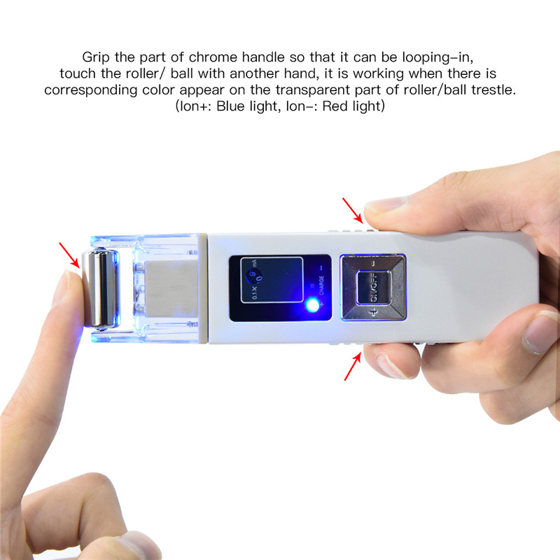 где купить Portable Ion Galvanic Microcurrent Face Lift Firming Whiting Machine Freckle Fat Removal Facial Massager Beauty Skin Care Device дешево