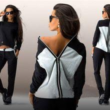 2016 Promotion Real Batik Newfashion Causal Clothing 2piece Women Hoodies Sweatshirt Suits