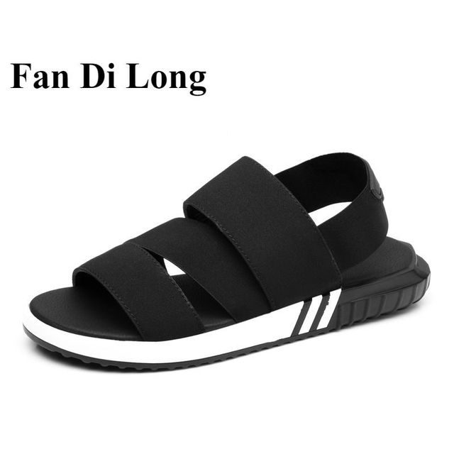 7caf30bcb054 2017 Summer Men Gladiator Sandals Unisex Roman Sandals Beach Slippers Wedge  Shoes Plus Size 47 46 45