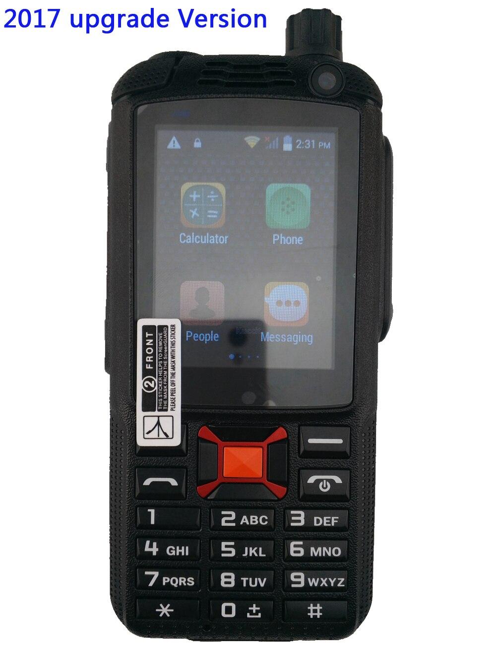 Цена за 2017 Обновление F22 Плюс 3 Г Android Сети интерком Walkie Talkie прочный Телефон Zello PTT Двухстороннее Радио Усиливается Антенна Wi Fi GPS