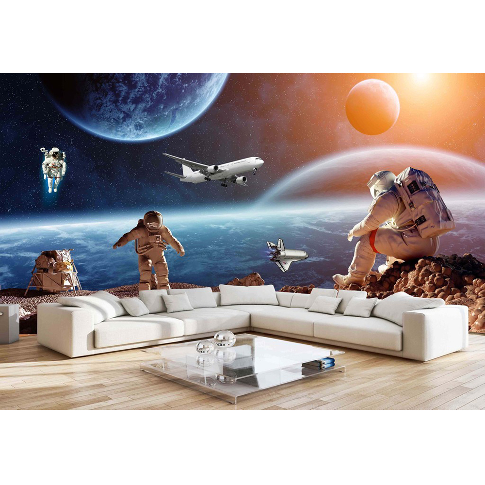 Space Bedroom Wallpaper 3d Custom Mural Diy Wallpaper For Walls Brand Designer Bedroom