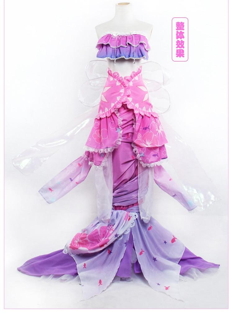 Lovelive Mermaid wakening cosplay costume Mozomi hanayo rin nico summer swimsuit wear cosplay costume