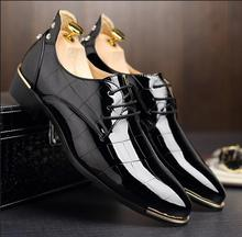New Flat Shoes For Autumn, Men Shoes British Style Genuine Leather Shoes Urban Casual Men's Flats Wedding Shoes